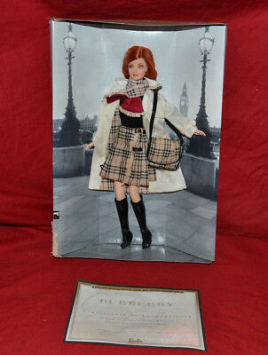Burberry® Barbie® Doll 2000 – Limited Edition – Never Removed From Packaging