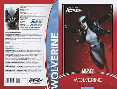 All New Wolverine #25 Christopher Trading Card Variant Legacy Marvel Comics Xmen
