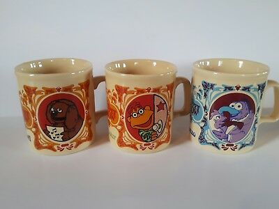 The Muppets Movie Gonzo Scooter Rowlf Set of 3 Show Kiln Craft