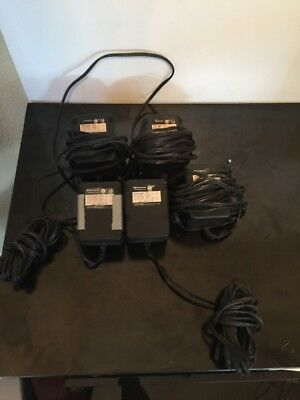 LOT OF 5 Dictaphone AC power supplies part 862315
