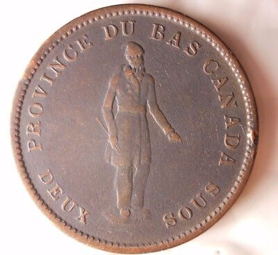 1837 CANADA (BANK OF MONTREAL) PENNY - SCARCE Vintage Coin - Lot #114