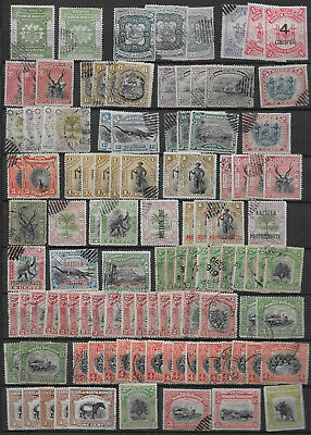 Large North Borneo Collection Used Stamps