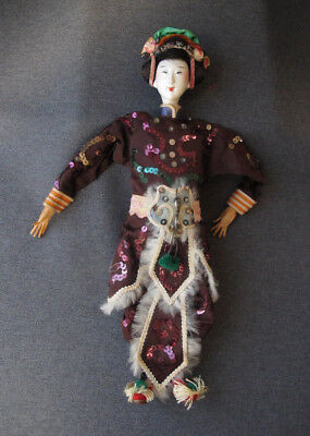 Antique vintage chinese opera doll  Signed   #4