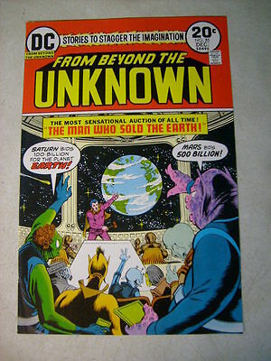 FROM BEYOND THE UNKNOWN #25 COVER ART original approval cover proof SOLD EARTH