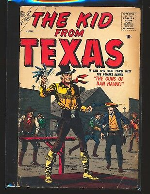 Kid From Texas # 1 - Powell art & Severin cover Good Cond.