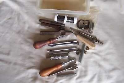 Leather Tools, Various, Punches etc.