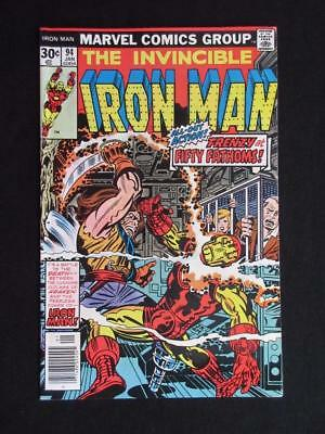 Iron Man #94 MARVEL 1977 - NEAR MINT 9.0 NM - Tony Stark, Stan Lee comics!!