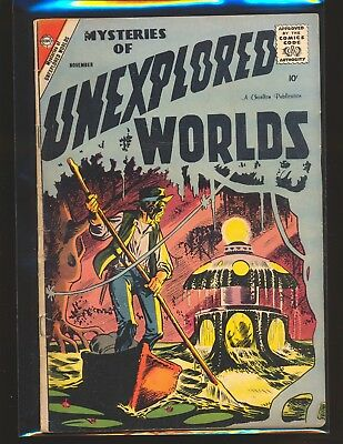 Mysteries Of Unexplored Worlds # 10 - Ditko cover & art G/VG Cond.