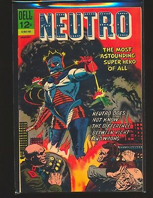 Neutro # 1 Jack Sparling cover & art VG/Fine Cond top staple detached from cover