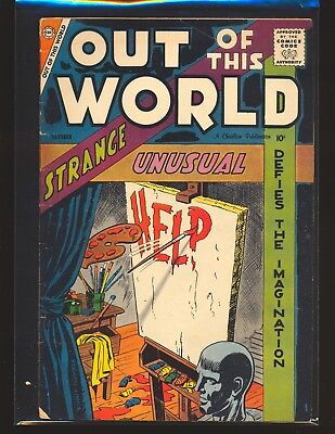 Out Of This World # 10 - Ditko art G/VG Cond.