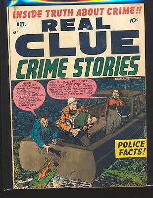 Real Clue Crime Stories Vol. 7 # 8 VG Cond.