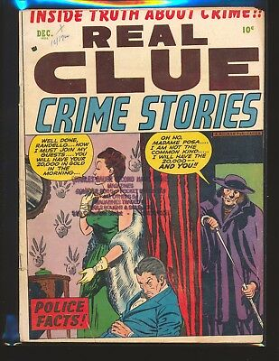 Real Clue Crime Stories Vol. 7 # 10 VG Cond.