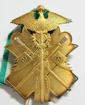 Excellent gilt! ORDER of GOLDEN KITE 6th CLASS BADGE JAPAN MEDAL JAPANESE SILVER