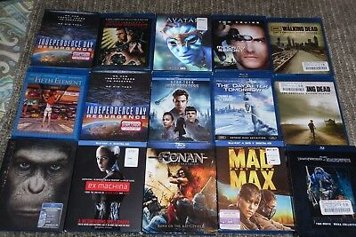 BLU RAY LOT  16 Sci-fi collection
