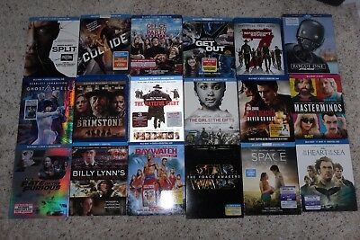 BLU RAY LOT of 18 new release movies