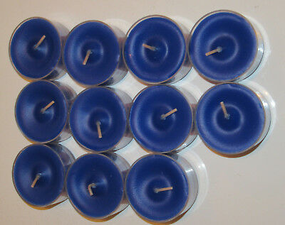 11 OCEAN MIST Partylite TEALIGHT Candles New with Box BLUE V0464 Party Lite