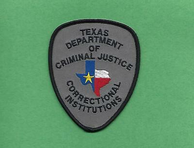 Texas Dept Of Criminal Justice- Correctional Institutions