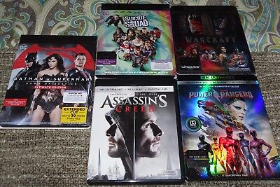 Ultra HD 4K BLU RAY LOT of 6 action movie collection