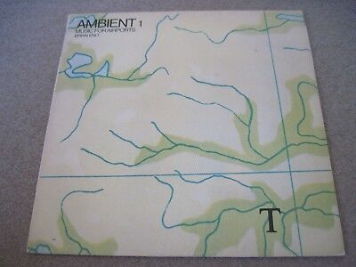 BRIAN ENO Ambient Music For Airports  1978  EG RECORDS  near mint