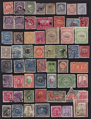 South American Stamps Interesting Selection from Old Album GCV