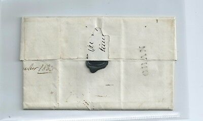 G.b.  From Oban To Inverary Letter Dated 1836 Address To Procurator  Fiscal