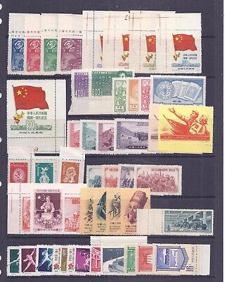 China PRC accumulation of C series issues unused or MNH