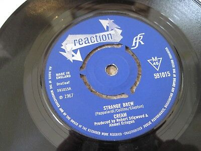CREAM Strange Brew 1967 reaction CUT CENTRE  near mint