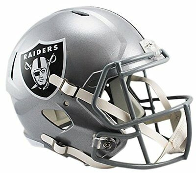 NFL Football Helm OAKLAND RAIDERS Full Size Speed Helmet Riddell neu American