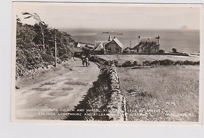 Isle Of Arran Kildonan Pladda Lighthouse 2 Rp Pu 1958 Valentines