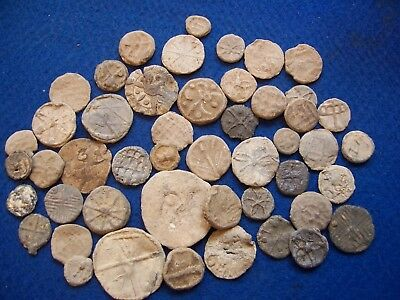 A Large Lot Of Medieval And Post Medieval Farming Tokens