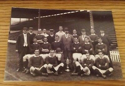 Manchester United Cup Winning Team 1908/09
