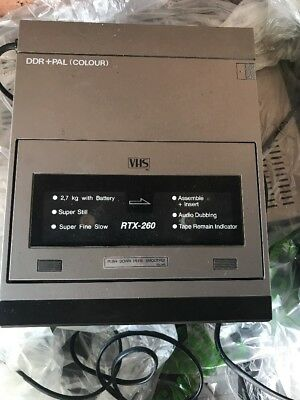 Blaupunkt RTX-260VHS VCR Video Player Recorder Working Good Condition
