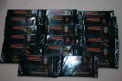 Magic the Gathering MTG Conspiracy: Take the Crown Sealed Boosters 17 Packs