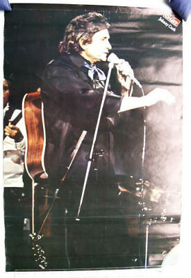 c.1980s Sun Newspaper Poster - Johnny Cash
