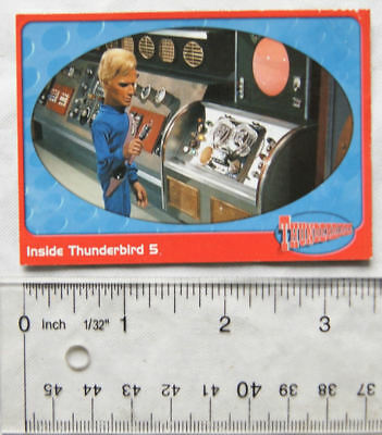 2001 Carlton Thunderbirds card No. 11 Inside Thunderbird 5
