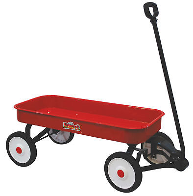 Brand New Kids Quality 86Cm Giant Classic Red Metal Wagon