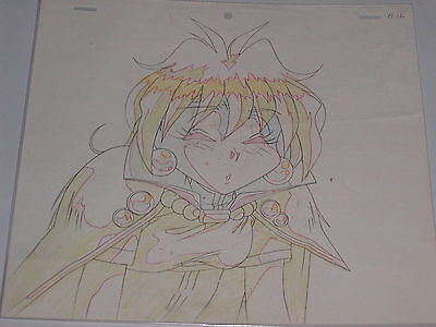 Slayers Anime Production Cel Sketch (Drawing) - Lina Inverse #1