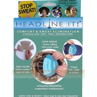 Headline It! Stop Sweat Liners 10 pack - brand new boxed
