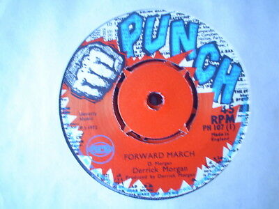 Uk Punch Ph 107-Derrick Morgan-Forward March/plenty Of One-Vg++