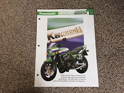 KAWASAKI ZRX1100 the complete data/fact file  essential superbikes