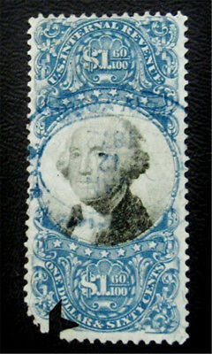 nystamps US Revenues Stamp # R121 Used $350 Cut Cancel
