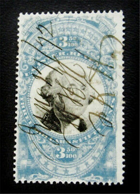 nystamps US Revenues Stamp # R126 Used $425