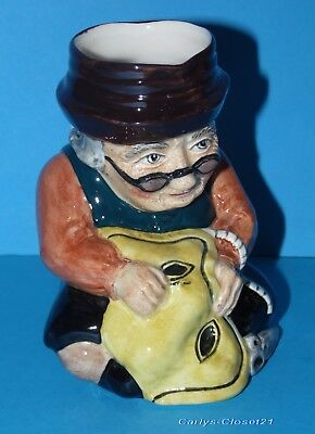"ROY KIRKHAM * Vintage Pottery Toby / Character Jug * Tailor  * 5"" (13cm) Tall *"