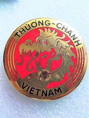 French Indochina War Vietnamese Customs Troops Badge 1953 (Rom) Arvn Vietnam