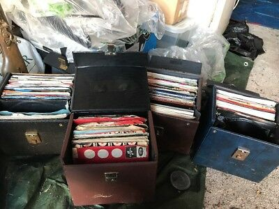 """Job Lot of 240 x 7"""" Vinyl Single Records jukebox fillers /collectibles/resale"""