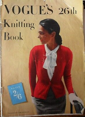 VOGUE'S 26th Knitting Book (1950's)