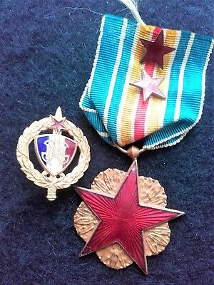 French World War 1 Wound Medal & Mutilated Combatants Association Badge
