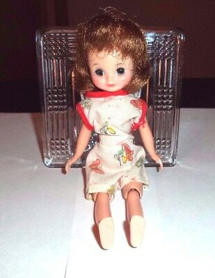 "Vintage 8"" Betsy McCall Doll for Parts or Restore"