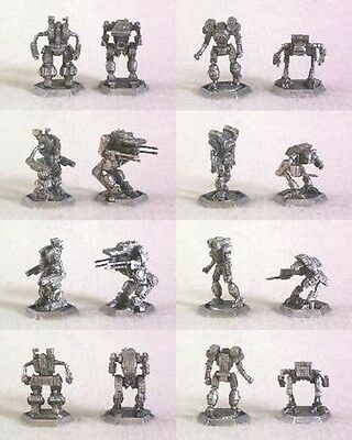 Mech Warrior & Mech Commander 4 mech sets