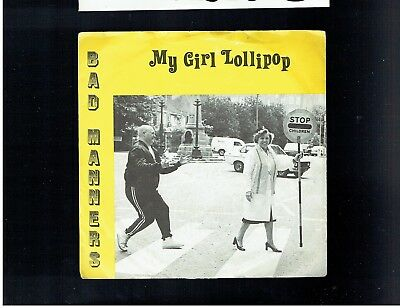 Bad Manners My Girl Lollipop Ps 45 1982